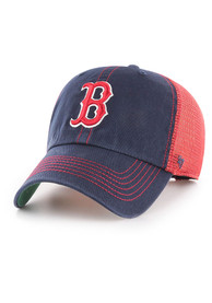 47 Boston Red Sox Trawler Clean Up Adjustable Hat - Navy Blue