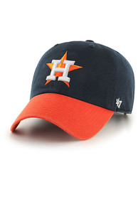 47 Houston Astros Two Tone Clean Up Adjustable Hat - Navy Blue