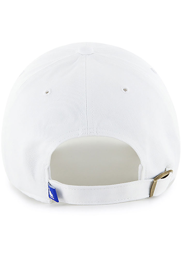 '47 Los Angeles Dodgers Clean Up Adjustable Hat - White - Image 2