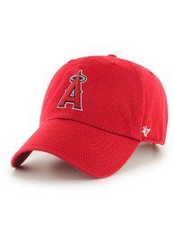 47 Los Angeles Angels Clean Up Adjustable Hat - Red