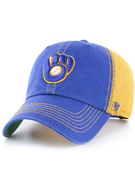 Milwaukee Brewers 47 Trawler Clean Up Adjustable Hat - Blue