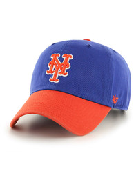 47 New York Mets Clean Up Adjustable Hat - Blue