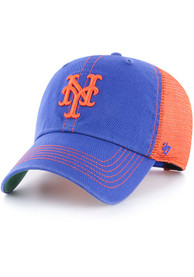 47 New York Mets Trawler Clean Up Adjustable Hat - Blue