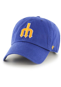 47 Seattle Mariners Clean Up Adjustable Hat - Blue