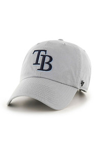 47 Tampa Bay Rays Clean Up Adjustable Hat - Grey