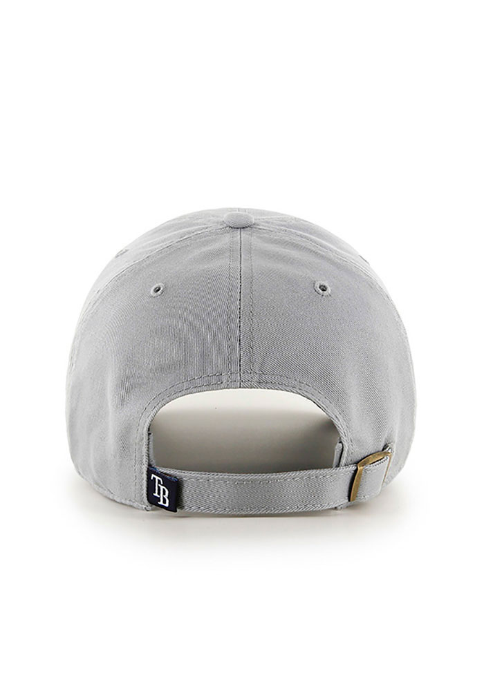 '47 Tampa Bay Rays Clean Up Adjustable Hat - Grey - Image 2