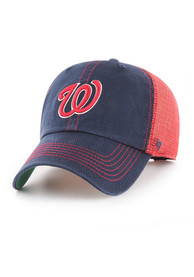 47 Washington Nationals Trawler Clean Up Adjustable Hat - Navy Blue