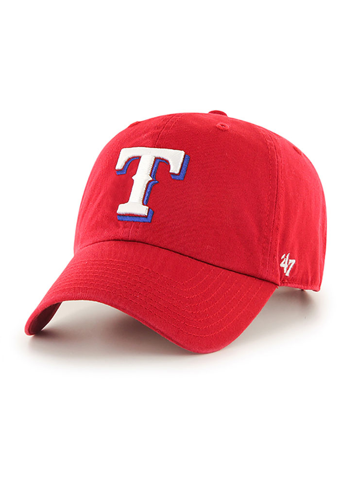 47 Texas Rangers Clean Up Adjustable Hat - Red - Image 1