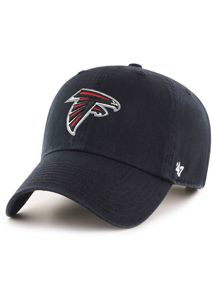 47 Atlanta Falcons Clean Up Adjustable Hat - Black