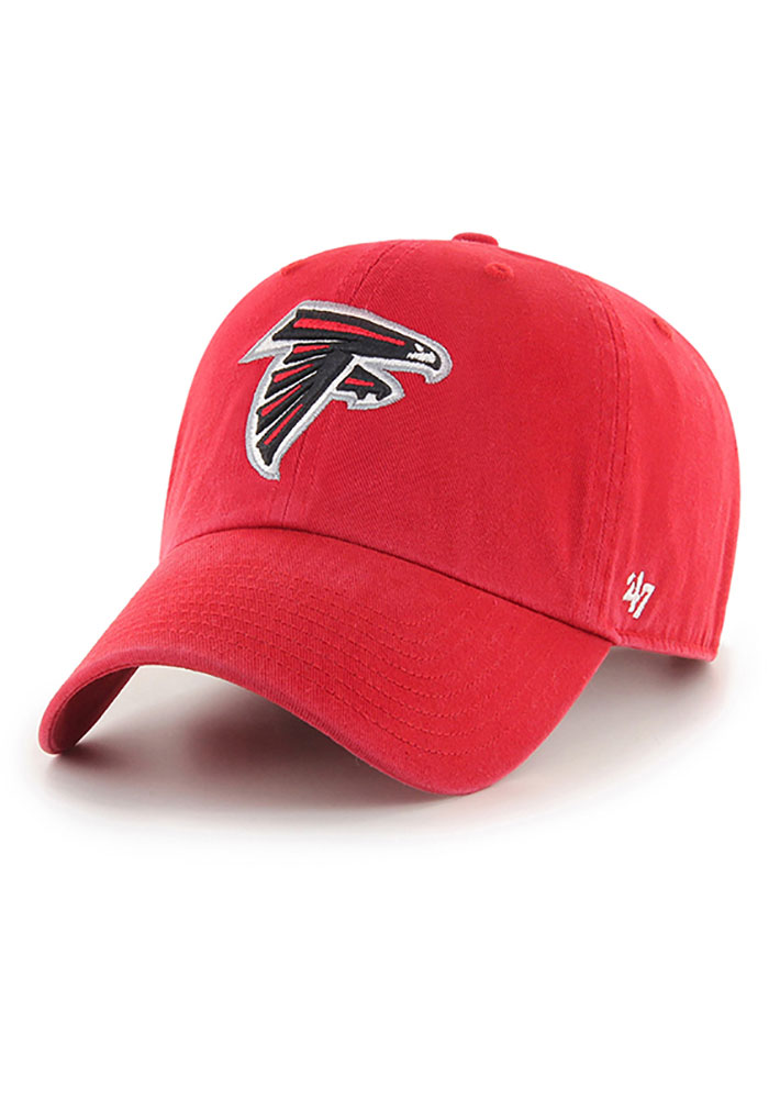 47 Atlanta Falcons Clean Up Adjustable Hat - Red