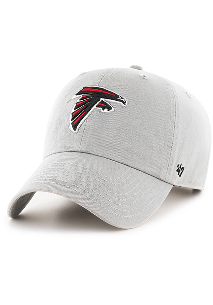 47 Atlanta Falcons Clean Up Adjustable Hat - Grey - Image 1