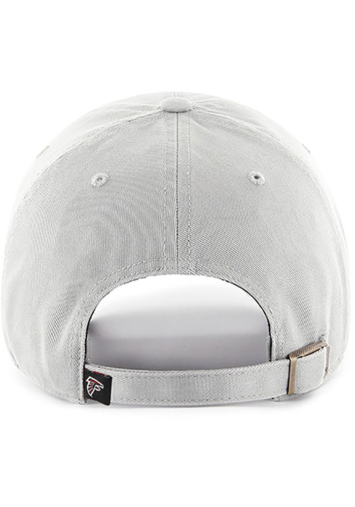 47 Atlanta Falcons Clean Up Adjustable Hat - Grey - Image 2