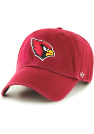 47 Arizona Cardinals Clean Up Adjustable Hat - Cardinal