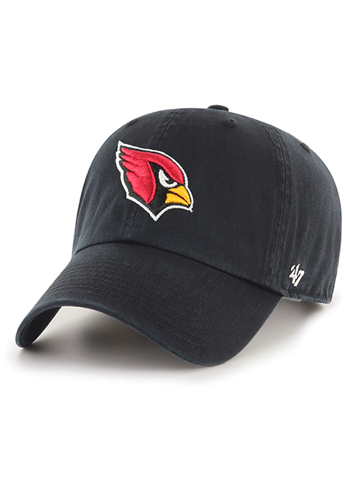 47 Arizona Cardinals Clean Up Adjustable Hat - Black