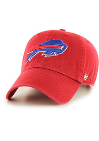 official photos 96561 d80e0 '47 Buffalo Bills Clean Up Adjustable Hat - Red