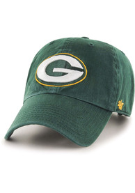 47 Green Bay Packers Clean Up Adjustable Hat - Green