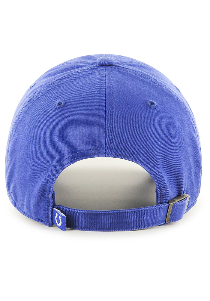 47 Indianapolis Colts Clean Up Adjustable Hat - Blue - Image 2