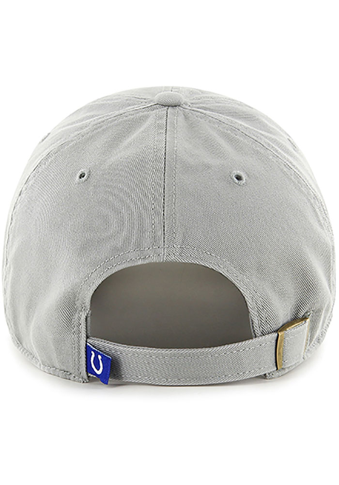 47 Indianapolis Colts Clean Up Adjustable Hat - Grey - Image 2