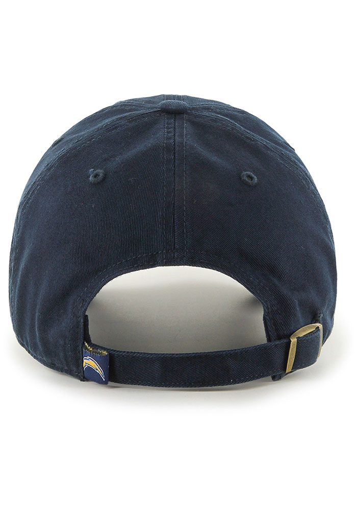 47 Los Angeles Chargers Clean Up Adjustable Hat - Navy Blue - Image 2