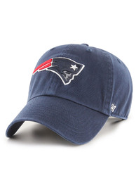 47 New England Patriots Clean Up Adjustable Hat - Navy Blue