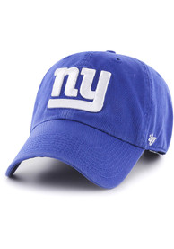 47 New York Giants Clean Up Adjustable Hat - Blue