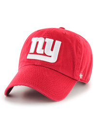 47 New York Giants Clean Up Adjustable Hat - Red