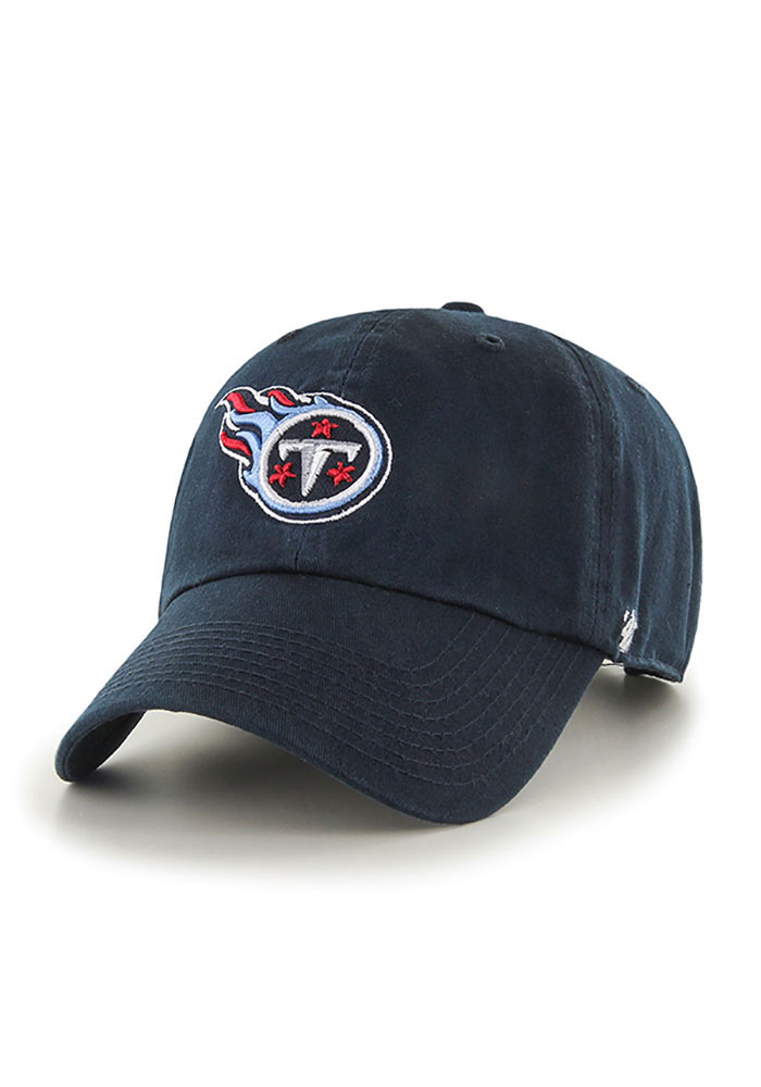 47 Tennessee Titans Clean Up Adjustable Hat - Navy Blue