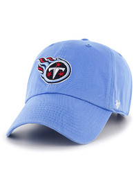 Tennessee Titans 47 Clean Up Adjustable Hat - Light Blue
