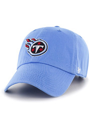 47 Tennessee Titans Clean Up Adjustable Hat - Light Blue