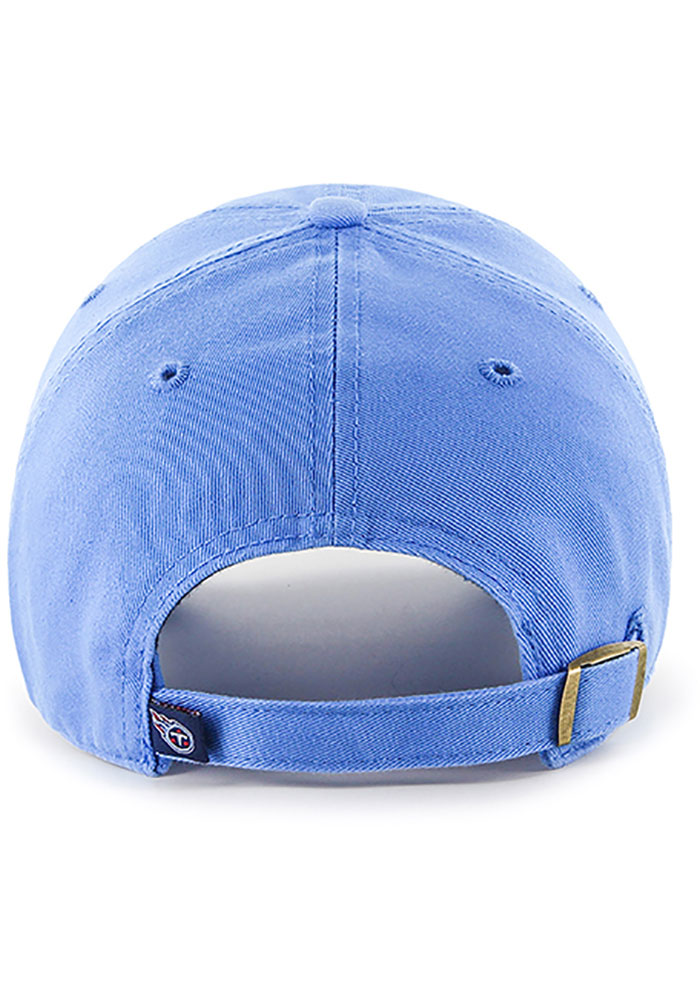47 Tennessee Titans Clean Up Adjustable Hat - Light Blue - Image 2