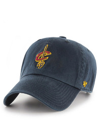 47 Cleveland Cavaliers Clean Up Adjustable Hat - Navy Blue