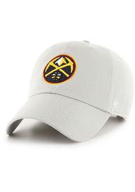 new arrival e6d77 685b2 '47 Denver Nuggets Clean Up Adjustable Hat - Grey