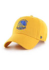 47 Golden State Warriors Clean Up Adjustable Hat - Gold