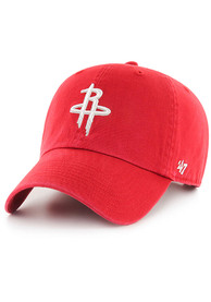 47 Houston Rockets Clean Up Adjustable Hat - Red