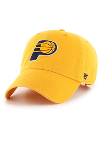 47 Indiana Pacers Clean Up Adjustable Hat - Yellow