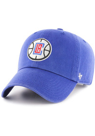 47 Los Angeles Clippers Clean Up Adjustable Hat - Blue