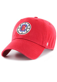 47 Los Angeles Clippers Clean Up Adjustable Hat - Red