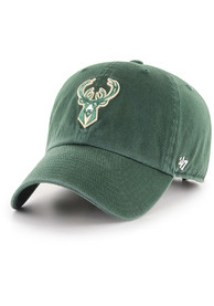 47 Milwaukee Bucks Clean Up Adjustable Hat - Green