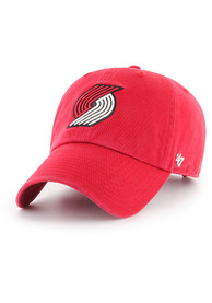 47 Portland Trail Blazers Clean Up Adjustable Hat - Red