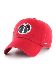 47 Washington Wizards Clean Up Adjustable Hat - Red