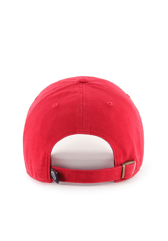 47 Washington Wizards Clean Up Adjustable Hat - Red - Image 2