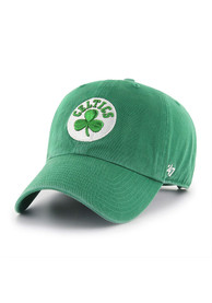 47 Boston Celtics Clean Up Adjustable Hat - Kelly Green
