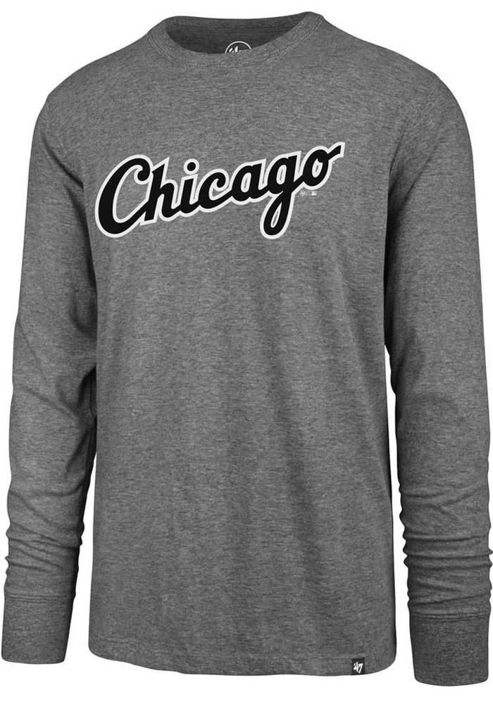 47 Chicago White Sox Grey Wordmark Super Rival Tee
