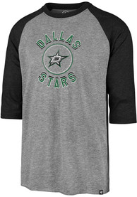 Dallas Stars 47 Match 3/4 Fashion T Shirt - Grey