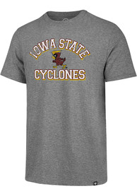 Iowa State Cyclones Number One Match Fashion T Shirt - Grey