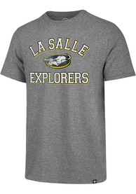 La Salle Explorers Grey Number One Match Fashion Tee