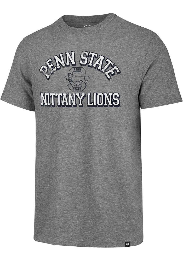 Penn State Nittany Lions Number One Match Fashion T Shirt - Grey
