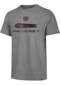 Texas A&M Aggies Grey Come and Take It Match Fashion Tee
