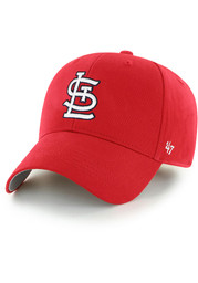 St Louis Cardinals Youth 47 Basic MVP Adjustable Hat - Red