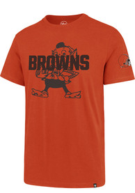 Cleveland Browns 47 Two Peat Super Rival T Shirt - Orange